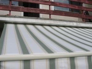 Верх навеса над террасой