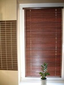 деревянные горизонтальные жалюзи фото 8